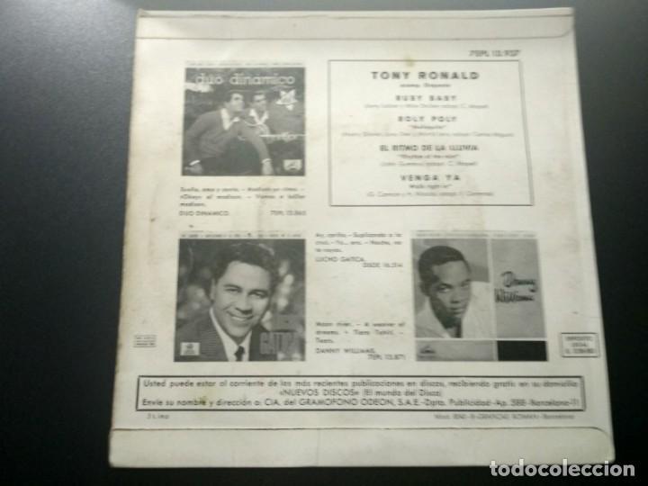 Discos de vinilo: TONY RONALD DISCO EP RUBY BABY + 3 AÑO 1963 LA VOZ DE SU AMO - Foto 2 - 169827152