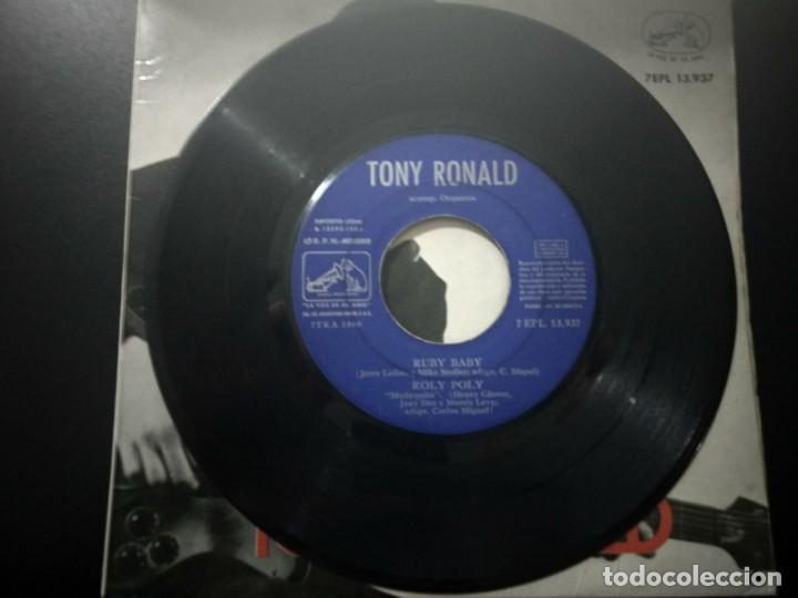 Discos de vinilo: TONY RONALD DISCO EP RUBY BABY + 3 AÑO 1963 LA VOZ DE SU AMO - Foto 3 - 169827152
