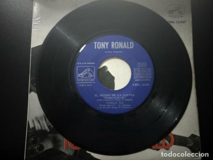 Discos de vinilo: TONY RONALD DISCO EP RUBY BABY + 3 AÑO 1963 LA VOZ DE SU AMO - Foto 4 - 169827152