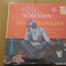Disques de vinyle: SCREAMIN JAY HAWKINS AT HOME WITH SCREAMIN JAY HAWKINS LP. Lote 169833816