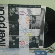 Discos de vinilo: FRANKIE GOES TO HOLLYWOOD - LIVERPOOL - LP SPAIN 1986 PEPETO. Lote 169839264