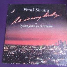 Discos de vinilo: FRANK SINATRA SG WEA 1984 L.A. IS MY LADY +1 SIN ESTRENAR . Lote 169867352