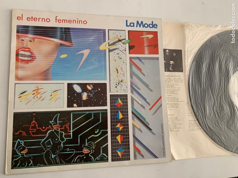 DISCO LP VINILO LA MODE EL ETERNO FEMENINO DE 1982 (Música - Discos - LP Vinilo - Grupos Españoles de los 70 y 80)