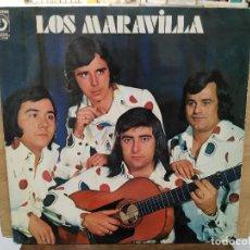 Discos de vinilo: LOS MARAVILLAS - ENAMORAO, REMOLINO ROCIERO (SEVILLANAS) - LP. DEL SELLO DISCOPHON1976. Lote 205677518