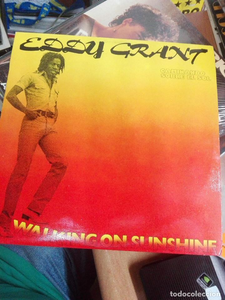 EDDY GRANT - CAMINANDO SOBRE EL SOL (WALKING ON SUNSHINE) . 1979. REGGAE. COMO NUEVO (Música - Discos de Vinilo - Maxi Singles - Reggae - Ska)