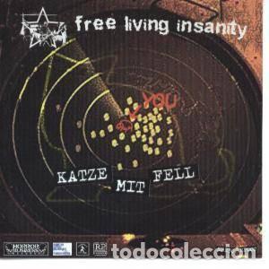 FREE LIVING INSANITY / MARSHCRANNIES - KATZE MIT FELL - VINILO AZUL (Música - Discos - Singles Vinilo - Punk - Hard Core)