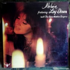 Discos de vinilo: MELANIE – CANDLES IN THE RAIN LP, SPAIN 1970 PORTADA DOBLE. Lote 169901516