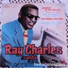 Discos de vinilo: RAY CHARLES GEORGIA DE MI CORAZÓN EP 1960. Lote 169903200