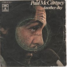 Discos de vinilo: PAUL MCCARTNEY, ANOTHER DAY - OH, WOMAN OH, WHY - VINILO SIGLE 1971 EMI ODEON. Lote 169906064