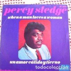 Discos de vinilo: PERCY SLEDGE WHEN A MAN LOVES A WOMAN EP 1967. Lote 169907016