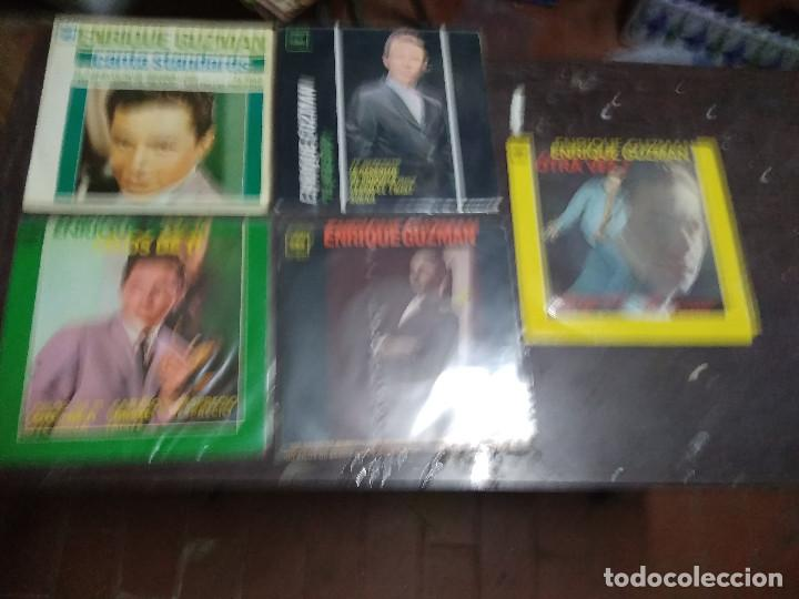 ENRIQUE GUZMAN ( TEEN TOPS ) LOTE 5 EP 45 RPM // EDITADOS ESPAÑA SPAIN SPANISH (Música - Discos de Vinilo - EPs - Solistas Españoles de los 50 y 60)