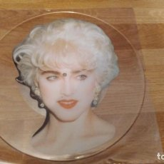 Discos de vinilo: MADONNA 7 INTERVIEW ,RARE PICTURE DISC SIN CORTAR UK PRESS* PRINCE-MICHAEL JACKSON* . Lote 169923160