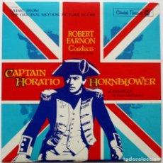 Discos de vinilo: EL HIDALGO DE LOS MARES. CAPTAIN HORATIO HORNBLOWER. ROBERT FARNON. Lote 169925956