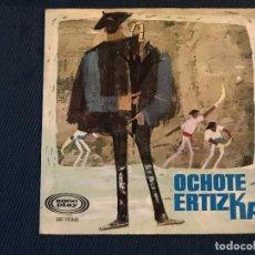 Discos de vinilo: OCHOTE ERTIZKA AZOKAN / ELURRA /2+ EP 7. Lote 169926648