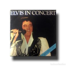 Discos de vinilo: ELVIS PRESLEY - ELVIS IN CONCERT. Lote 169952536