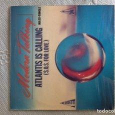 Discos de vinilo: MODERN TALKING ATLANTIS IS CALLING-MAXI. Lote 169956204