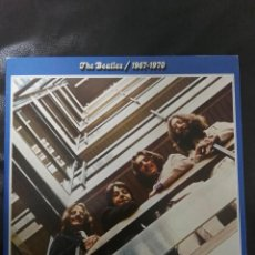 Discos de vinilo: LP DOBLE : THE BEATLES / 1967 - 1970 ED SPAIN 1973 CONTIENE FUNDAS INTERIORES. Lote 169971132