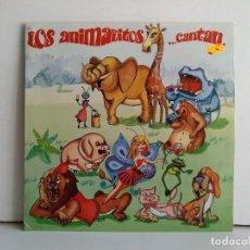 Discos de vinilo: LOS ANIMALITOS CANTAN . Lote 169971836