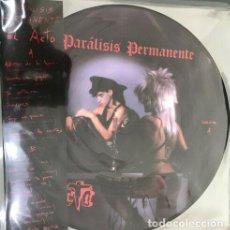 Discos de vinilo: LP PARALISIS PERMANENTE EL ACTO VINILO PICTURE RSD 2019 PUNK GOTICO RECORD STORE DAY. Lote 169975617
