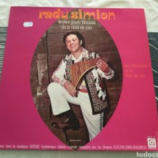 Discos de vinilo: RADU SIMION - LE PLUS GRAND VIRTUOSE DE LA FLÛTE DE PAN (LP, ALBUM). Lote 169977542