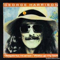 Discos de vinilo: THE BEATLES: GEORGE HARRISON: PROMO SPAIN WAKE UP MY LOVE- MINT CONDICION- COLECCIONISTAS. Lote 169980106