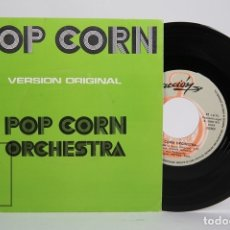 Discos de vinilo: DISCO SINGLE DE VINILO- POP CORN ORCHESTRA VERSION ORIGINAL POP CORN / BLACKBIRD - ACCIÓN - AÑO 1972. Lote 169983641