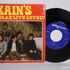 Discos de vinilo: DISCO SINGLE DE VINILO - XAIN'S / I'AM GLAD, LIVE LOVELY - ARTYPHON - AÑO 1974. Lote 169983789