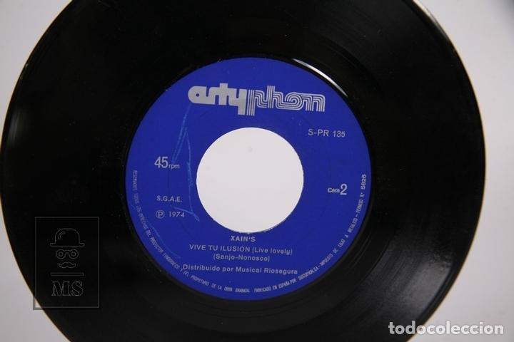 Discos de vinilo: Disco Single De Vinilo - Xain's / I'am Glad, Live Lovely - Artyphon - Año 1974 - Foto 2 - 169983789