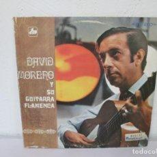 Discos de vinilo: DAVID MORENO Y SU GUITARRA FLAMENCA. LP VINILO. DIVULGACION MUSICAL 1971.. Lote 169983844