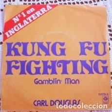 Discos de vinilo: CARL DOUGLAS KUNG FU FIGHTING EP 1974. Lote 169986748