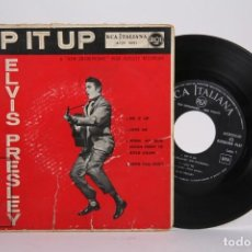 Discos de vinilo: DISCO EP DE VINILO - ELVIS PRESLEY / RIP IT UP , LOVE ME.... - RCA ITALIANA - AÑOS 50. Lote 169987124