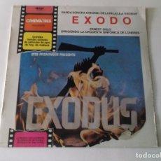 Discos de vinilo: EXODO, BANDA SONORA,ERNEST GOLD SINFONICA DE LONDRES, 1972 RCA CON PANFLETO. Lote 169987748