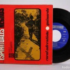 Discos de vinilo: DISCO EP DE VINILO - ESPIRITUALES NEGROS / CORAL ADVENTISTA GUINARDO - VERGARA - AÑO 1968. Lote 169988428