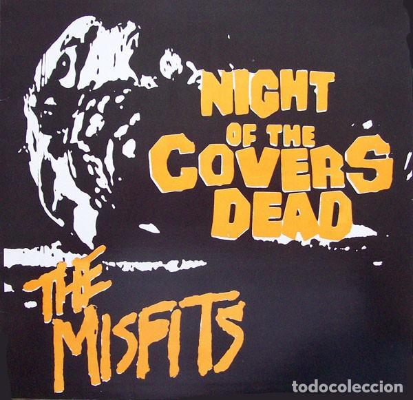 NIGHT OF THE COVERS DEAD - YELLOW VINYL 10 INCH - TRIBUTO A THE MISFITS (Música - Discos - LP Vinilo - Punk - Hard Core)