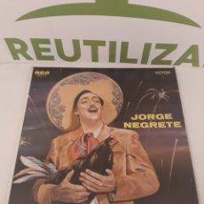 Discos de vinilo: JORGE NEGRETE.MEXICO.LP.. Lote 169994968