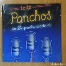 Discos de vinilo: PANCHOS - TODO PANCHOS / LAS 24 GRANDES CANCIONES - 2 LP. Lote 170005133