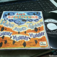 Discos de vinilo: LOS SPRINTERS SINGLE RAIN AND TEARS 1968. Lote 170005190