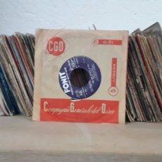 Discos de vinilo: 150 VINILOS PEQUEÑOS. Lote 170006601