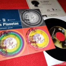 Discos de vinilo: LOS PLANETAS SU MAPAMUNDI GRACIAS + SR. CHINARRO ¿QUE PUEDO HACER? 7 SINGLE 1997 ACUARELA/OVNI INDIE. Lote 199424383