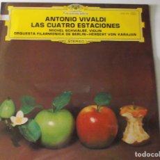 Discos de vinilo: ANTONIO VIVALDI - LAS CUATRO ESTACIONES -1980 -. Lote 170012052