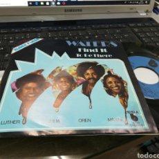 Discos de vinilo: WATERS SINGLE FIND IT ESPAÑA 1975. Lote 170019576