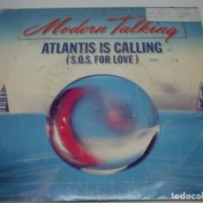 Discos de vinilo: SINGLE - MODERN TALKING - ATLANTIS IS CALLING (S. O. S. FOR LOVE) - 1986. Lote 170026148