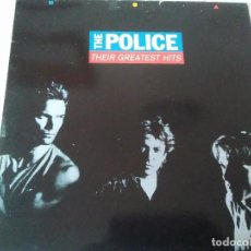 Discos de vinilo: 60-LP THE POLICE, THEIR GREATEST HITS, 1990. Lote 184508238
