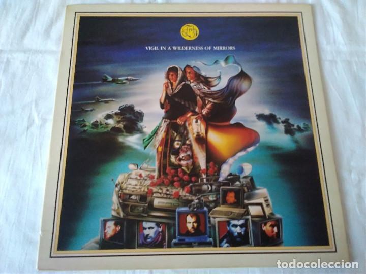 52-LP VIGIL IN A WILDERNESS OF MIRRORS, 1990 (Música - Discos de Vinilo - EPs - Pop - Rock Internacional de los 90 a la actualidad)
