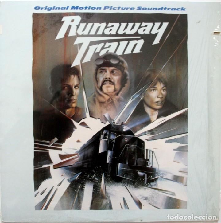 RUNAWAY TRAIN. EL TREN DEL INFIERNO. TREVOR JONES (Música - Discos - LP Vinilo - Bandas Sonoras y Música de Actores )