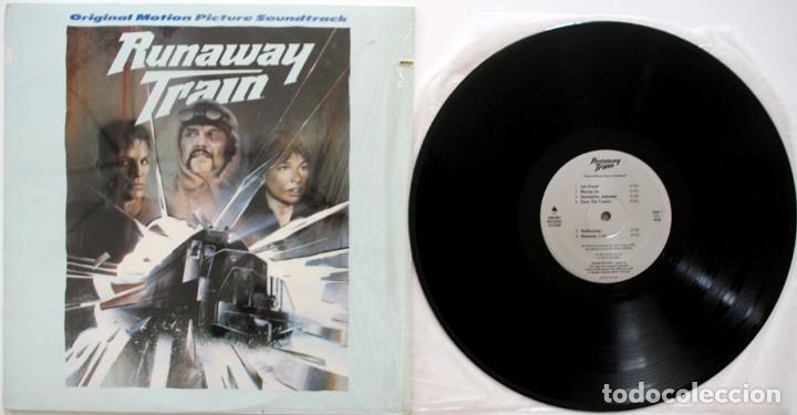 Discos de vinilo: RUNAWAY TRAIN. EL TREN DEL INFIERNO. TREVOR JONES - Foto 3 - 170028564
