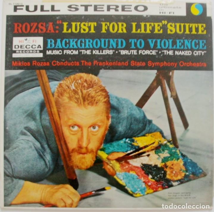 EL LOCO DEL PELO ROJO. LUST FOR LIFE Y +++. MIKLOS ROZSA (Música - Discos - LP Vinilo - Bandas Sonoras y Música de Actores )
