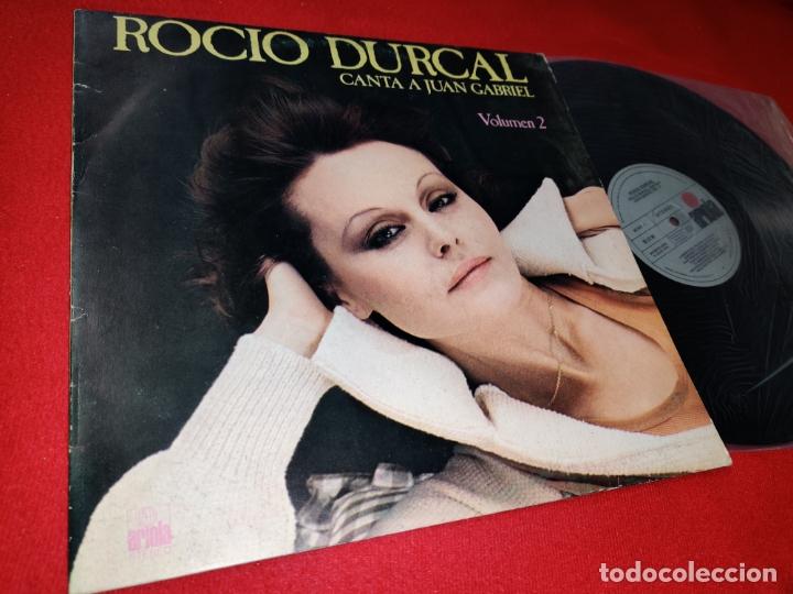ROCIO DURCAL CANTA A JUAN GABRIEL VOL. 2 LP 1978 ARIOLA SPAIN ESPAÑA (Música - Discos - LP Vinilo - Solistas Españoles de los 50 y 60)