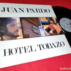 Discos de vinilo: JUAN PARDO HOTEL TOBAZO LP 1975 ARIOLA GATEFOLD SPAIN ESPAÑA. Lote 170038324