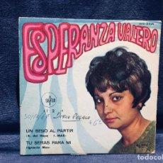 Discos de vinilo: ESPERANZA VALERO SAYTON UN BESO AL PARTIR TU SERAS PARA MI . Lote 170044412